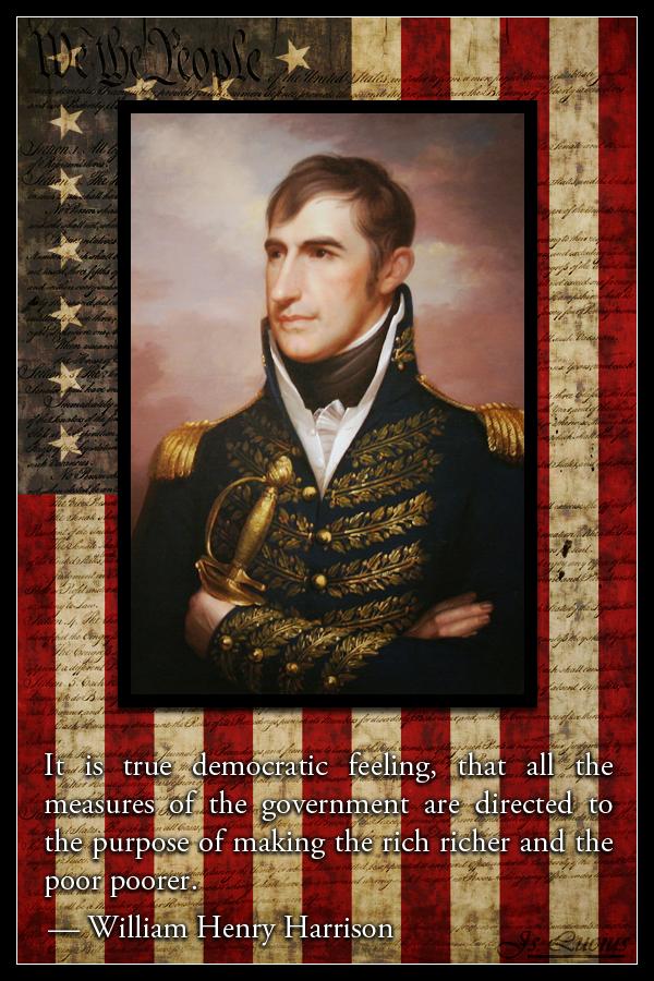 Liberty Lies William Henry Harrison Saint Iscariot